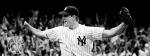 Yankees Jim Abbott after pitching no hitter. 9/4/93