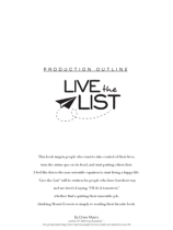 Live the List